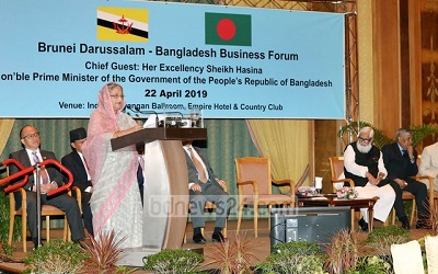 Prime Minister urges Brunei businesses to forge partnership, invest in Bangladesh